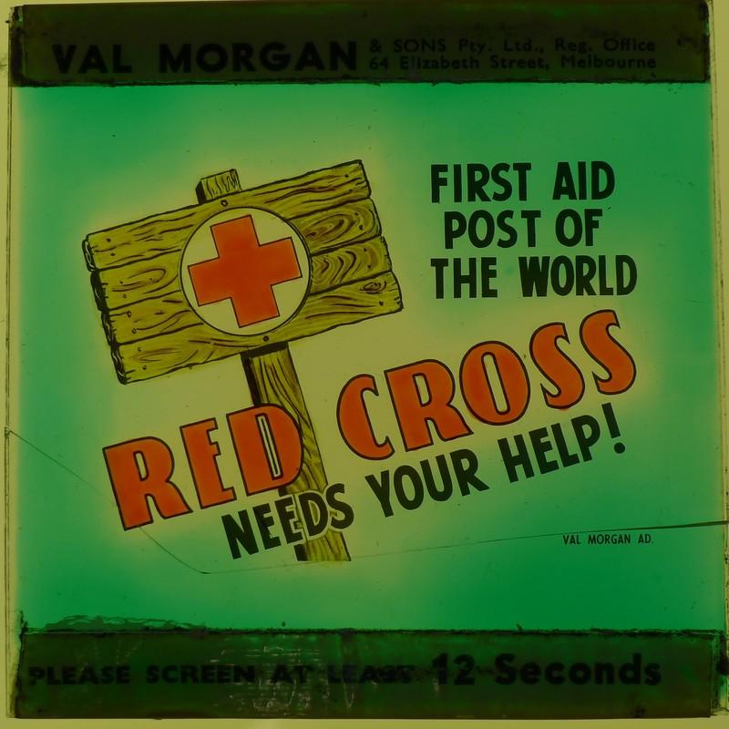 """""""Red Cross needs your help"""""""