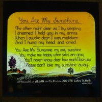 """""""You Are My Sunshine"""""""