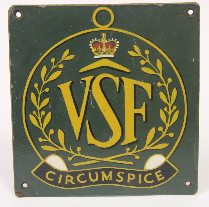VSF Plaque