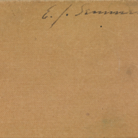 Sketch books by E.J. Semmens