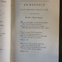 Le dauphin a la nation française
