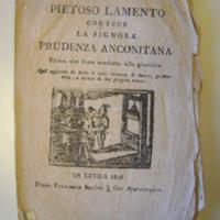 1 Pietoso Lamento … Prudenza Anconitana Lucca 1818 front page.JPG