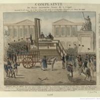 Complainte de Marie Antoinette veuve de L. Capet;