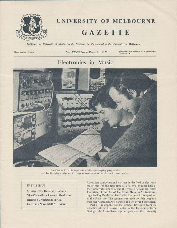 Uni of Melb Gazette XXVII no 4.jpg