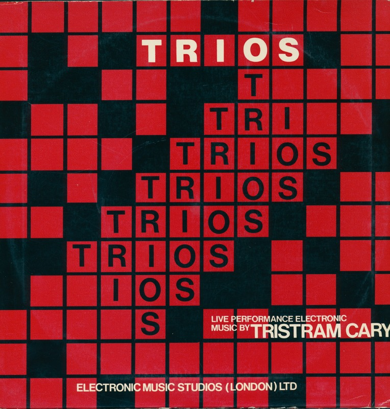 Tristram Cary, Trios for Synthi VCS3, synthesizer and