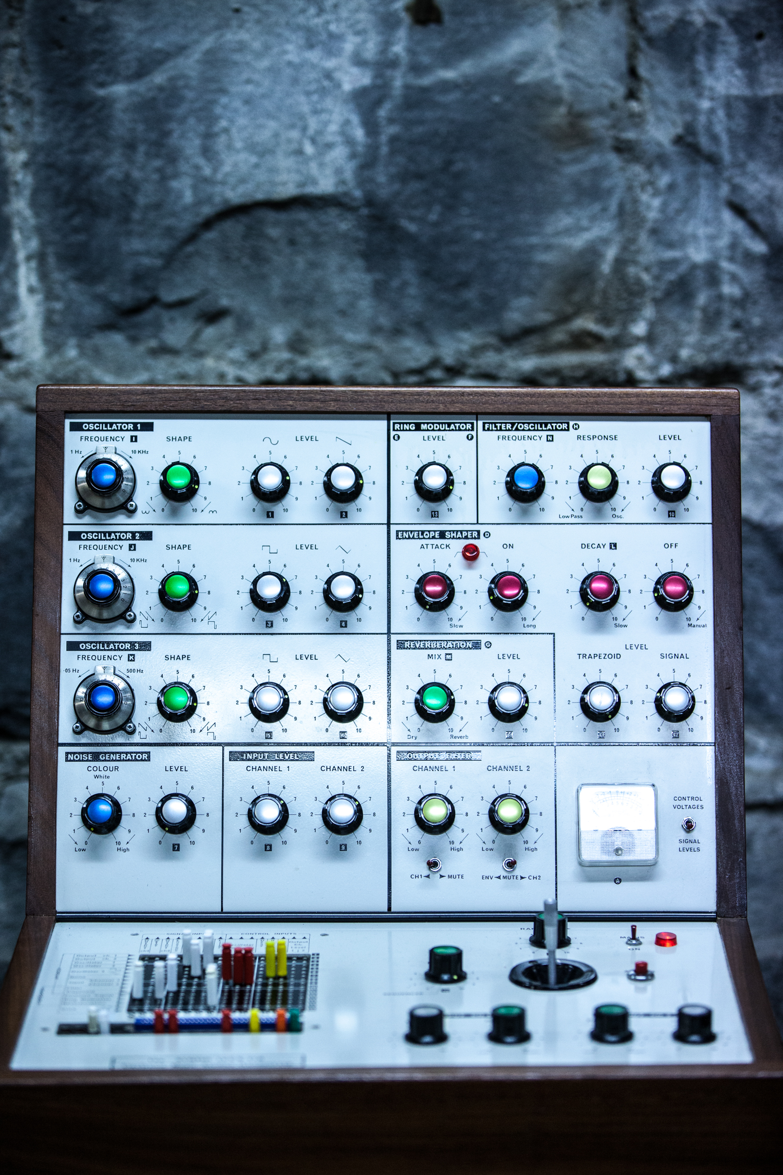 EMS VCS3 synthesizer · Grainger Museum Online