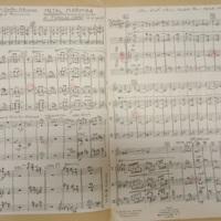 Eastern Intermezzo for tuneful percussion, Metal Marimba & Tubular Chimes part, 1898/99, 1933