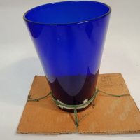 Musical glass created by Percy Grainger, c.1930s