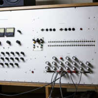 VCS1 (Don Banks Music Box), c.1968–69, in the Optronics Unit built by Graham Thirkell