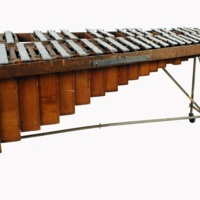 R. H. Mayland & Son, New York, USA (instrument makers)<br /> Metal marimba, early twentieth century<br />