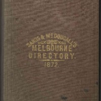 Sands & McDougall's Melbourne and Suburban Directory for 1872