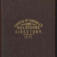 Sands & McDougall's Melbourne and Suburban Directory for 1871