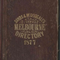 Sands & McDougall's Melbourne and Suburban Directory for 1877