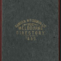 Sands & McDougall's Melbourne and Suburban Directory for  1869