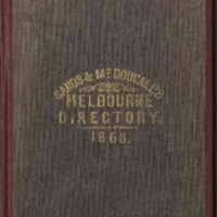 Sands & McDougall's Melbourne and Suburban Directory for 1868