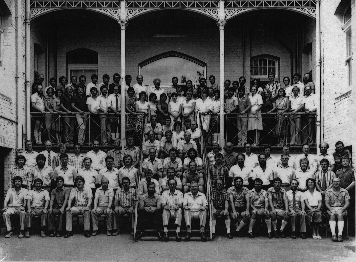 Ballarat School of Mines Staff