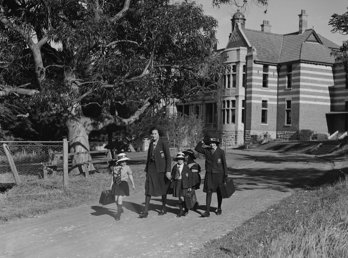 Schoolgirls at Methodist Ladies College Claremont (interviewee not pictured)