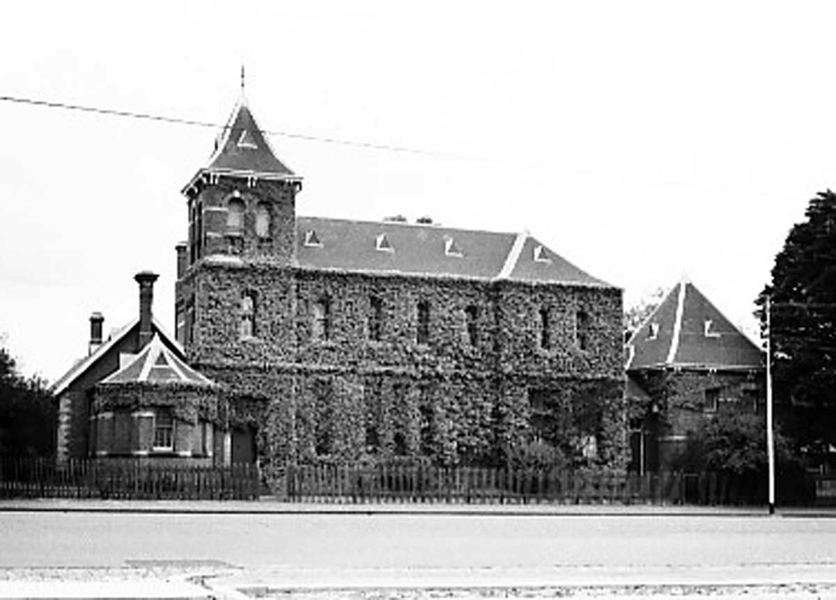 Lygon Street Building, University High, Parkville, Melbourne